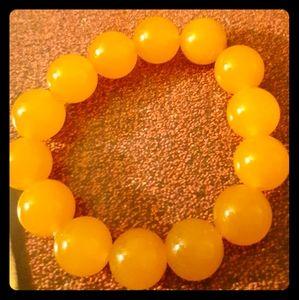 Yellow Jade Healing Bracelet
